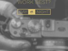When do you work best?